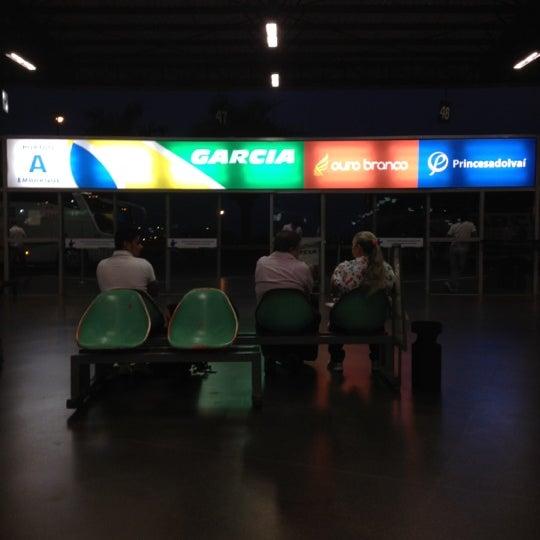 Photo taken at Terminal Rodoviário José Garcia Villar by Fernando O. on 9/11/2012