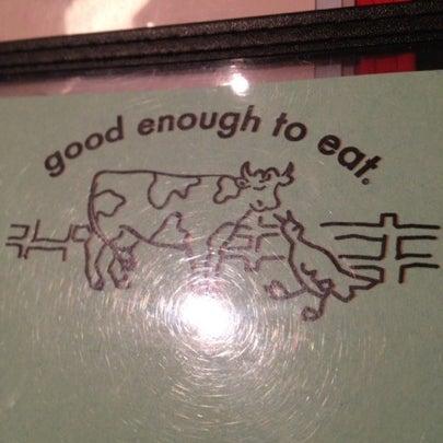 Photo taken at Good Enough to Eat by Jeffrey on 8/21/2012