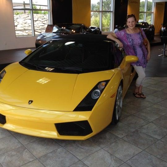 Photo Taken At Lamborghini Of Sarasota By Daniel K. On 7/9/2012