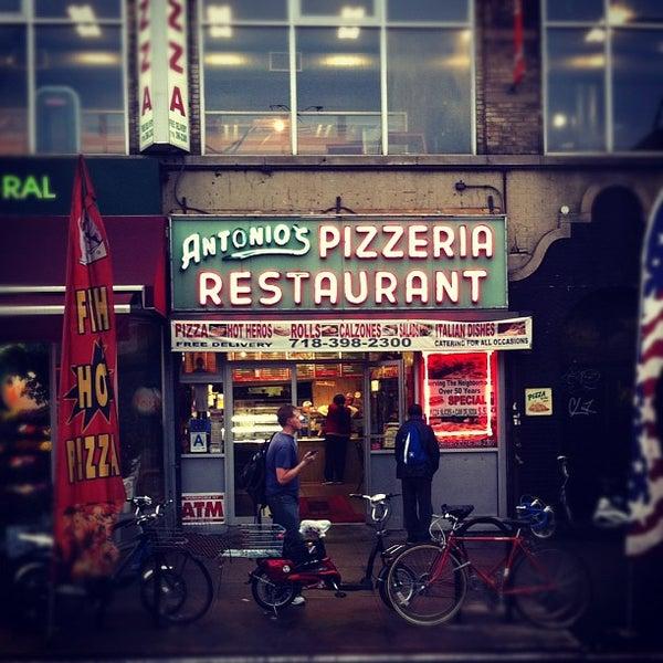 Photo taken at Antonio's Pizzeria by Ian A. on 10/13/2011