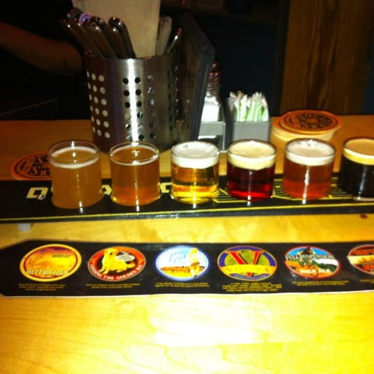 Photo taken at Squatters Pub Brewery by Deuce G. on 10/17/2011