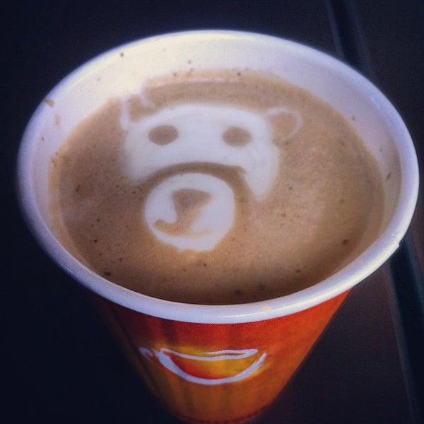 Photo taken at Barnie's Coffee & Tea Company by Tobias G. on 8/18/2012