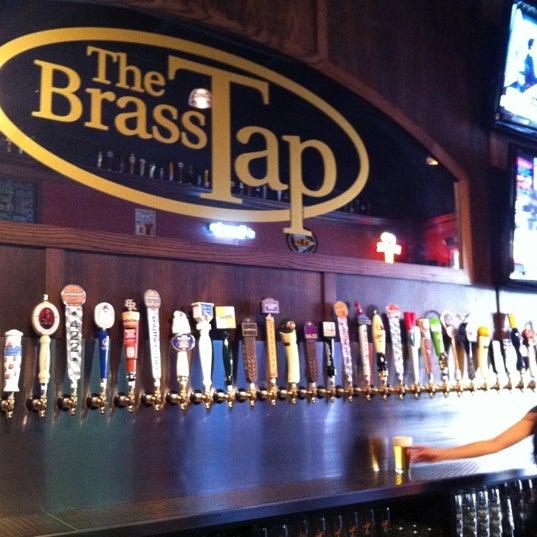 The brass tap beer garden in brandon