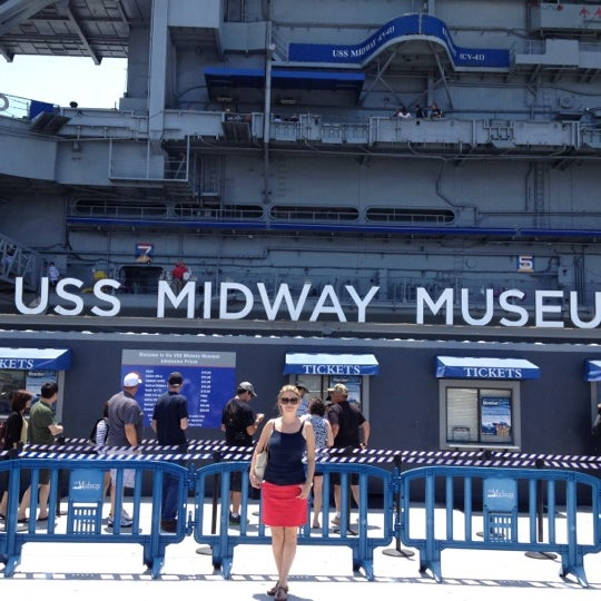 Photo taken at USS Midway Museum by Asude on 8/3/2012