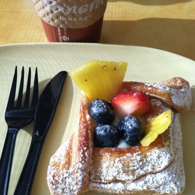 Photo taken at Panera Bread by Jacque Q. on 8/12/2012