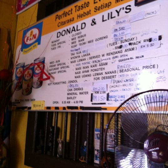 Photo taken at Donald & Lily Nyonya Food by Teo C. on 4/19/2012