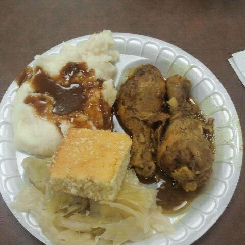 Photo taken at Nana's Soul Food Kitchen by Matt H. on 11/10/2011