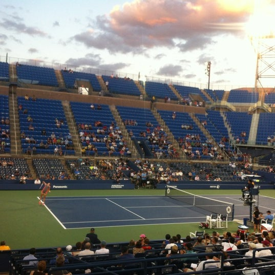 Photo taken at US Open Tennis Championships by Andrew B. on 8/29/2012