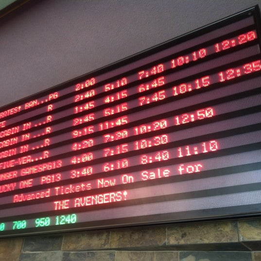 Photo taken at Harkins Theatres Tempe Marketplace 16 by Brian R. on 4/28/2012