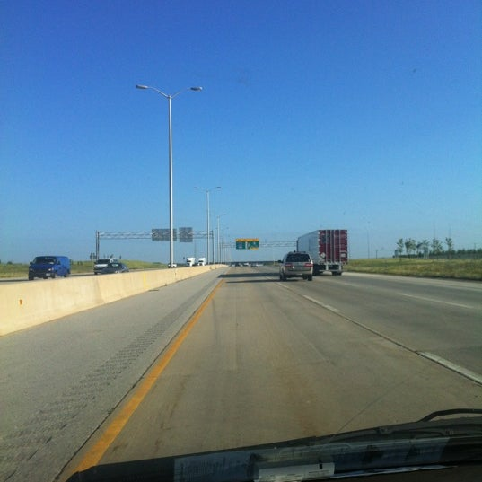 Photo taken at Veterans Memorial Tollway by Jordan B. on 6/20/2012