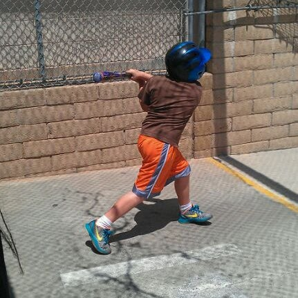 Photo Taken At Home Run Park Batting Cages By Steve D On 8 13