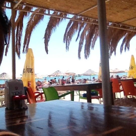 Photo taken at Ramo Beach by Taus N. on 7/4/2012