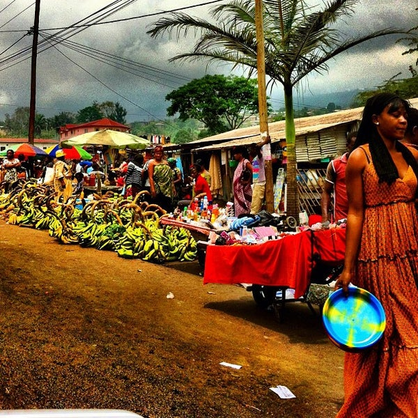 Photo taken at Buea by Carece S. on 3/17/2012