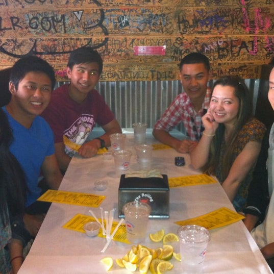 Photo taken at The Boiling Crab by Leander L. on 4/7/2012