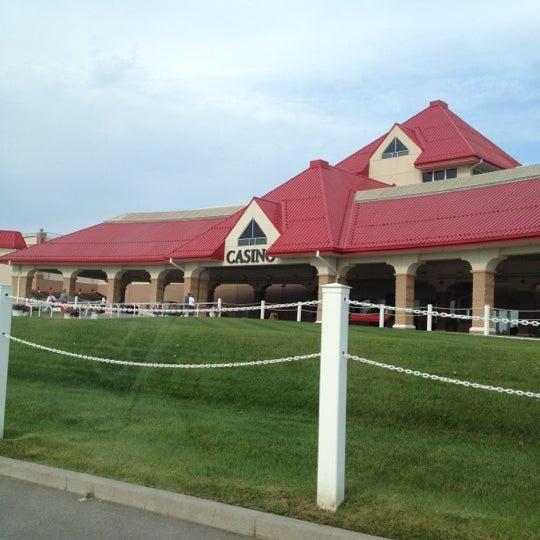 Photo taken at Prairie Meadows by Aaron H. on 8/11/2012