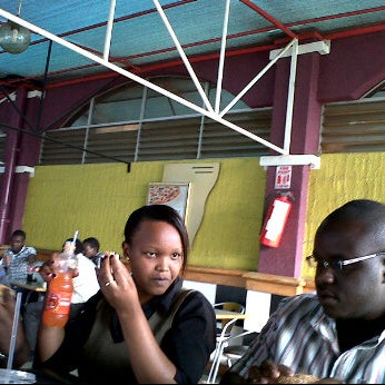 Photo taken at Steers Uchumi Hyper by Elizabeth G. on 6/22/2011