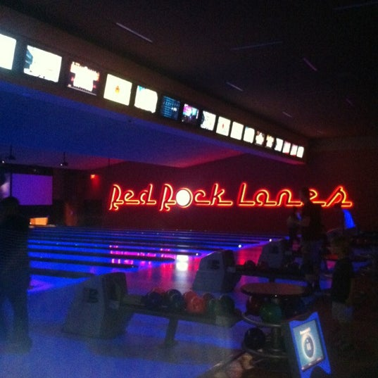 Red rock casino bowling alley