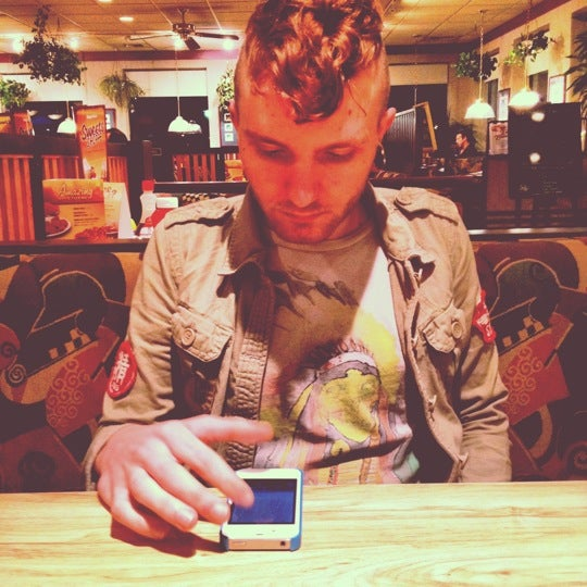 Photo taken at Ram's Horn by Derek Z. on 3/24/2012