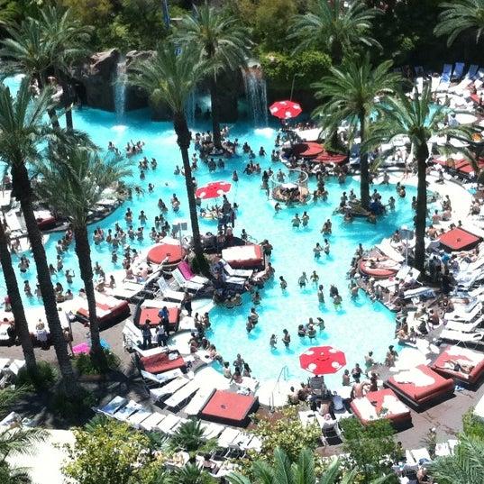 Photo taken at Flamingo GO Pool by Jason M. on 7/5/2011