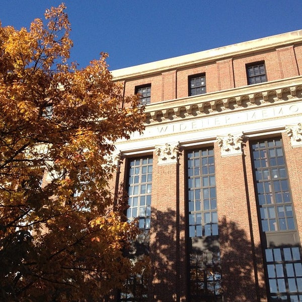 Photo taken at Widener Library by K L. on 11/5/2011
