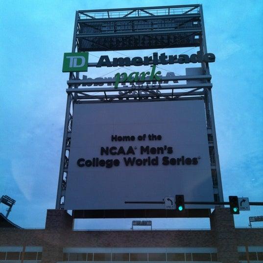 Photo taken at TD Ameritrade Park by Scott B. on 10/29/2011