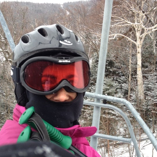 Photo taken at Whiteface Mountain by Nathan P. on 12/30/2011