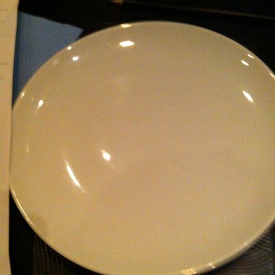 Be prepared to wait with a plate like this