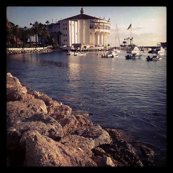 Photo taken at Santa Catalina Island by Charles S. on 10/25/2011