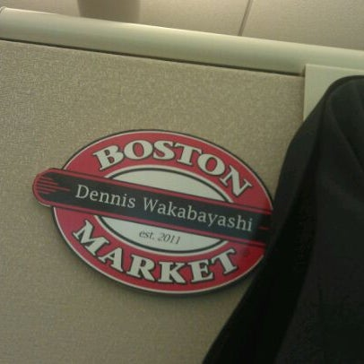 Photo taken at Boston Market Corporate Headquarters by Dennis W. on 4/17/2012