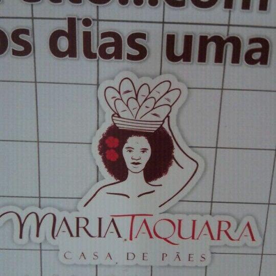 Photo taken at Casa de Pães Maria Taquara by Calixto N. on 1/24/2012