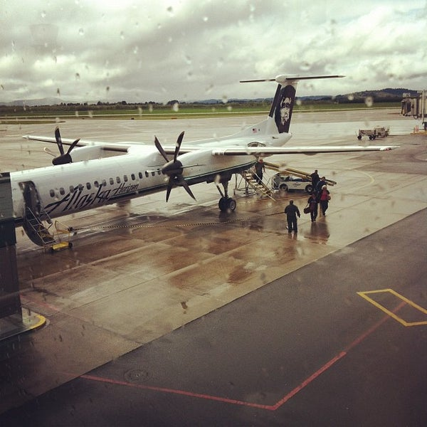 Photo taken at Eugene Airport (EUG) by Sam C. on 4/30/2012