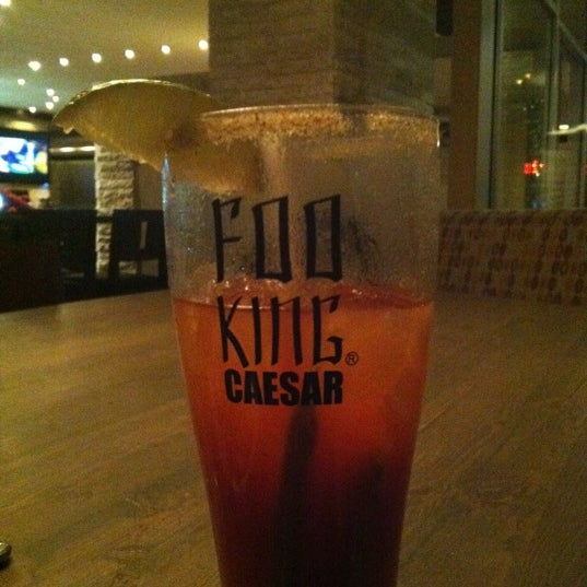 Foo king Caesars..my fave and order the stuffed burger with reg fries soy good kid...