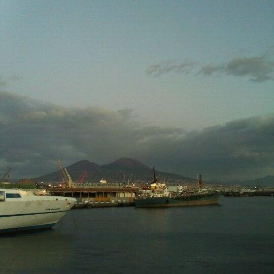 Photo taken at Calata Porta di Massa by Lorenza B. on 1/25/2012