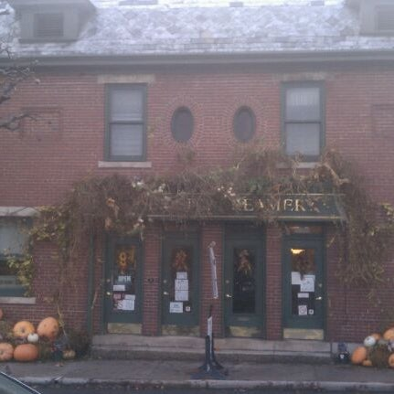 Photo taken at Queen City Creamery by Travel Green Appalachia on 11/23/2011