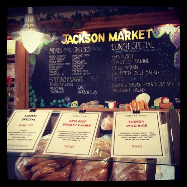 Photo taken at Jackson Market by Julie • 유미 U. on 1/29/2012
