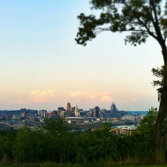 Photo taken at Devou Overlook by Caleb H. on 9/6/2012