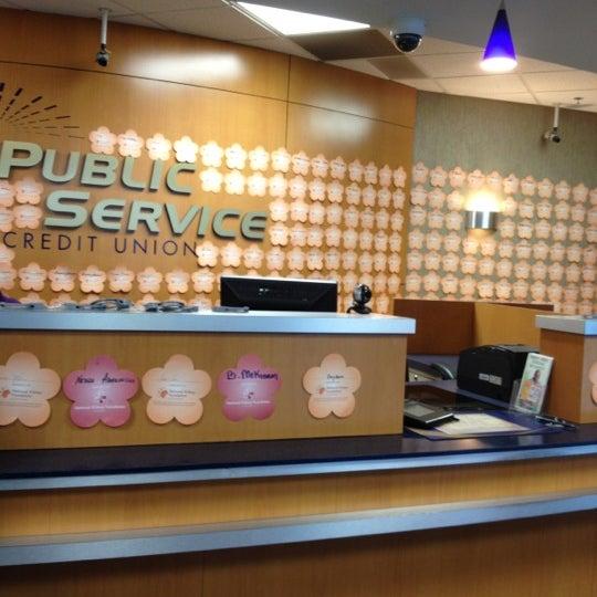 Photo taken at Public Service Credit Union by Vikki W. on 4/30/2012