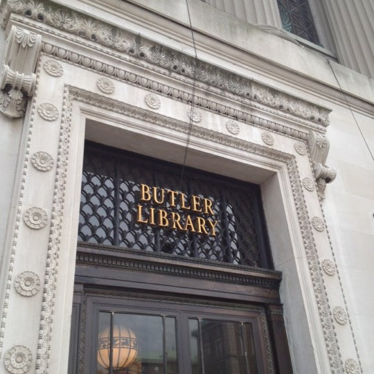 Photo taken at Butler Library by Manuel B. on 4/30/2012
