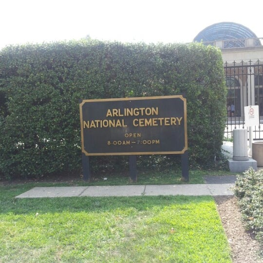 Photo taken at Arlington National Cemetery by Gloriana T. on 8/30/2012