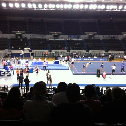 Photo taken at Memorial Coliseum by Jenny S. on 2/24/2012