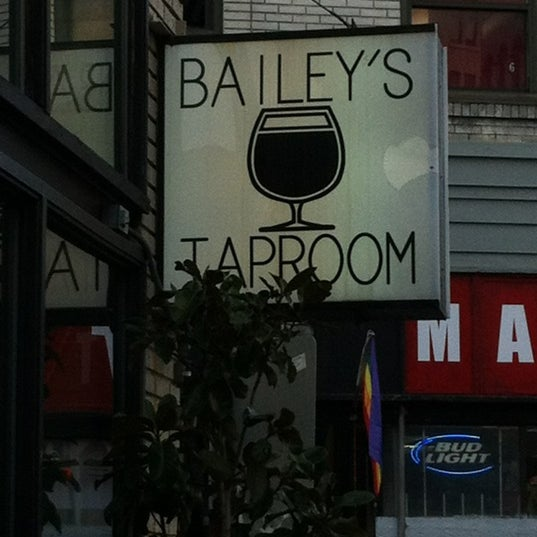 Photo taken at Bailey's Taproom by Mickey M. on 4/19/2012