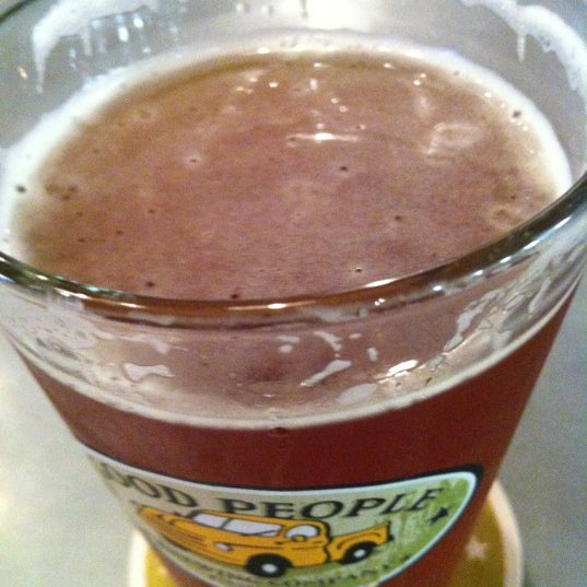 Photo taken at Good People Brewing Company by Christy T. on 6/28/2012