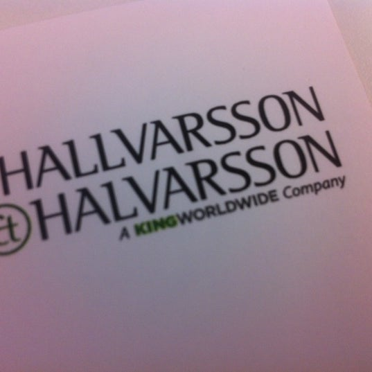 Photo taken at Hallvarsson & Halvarsson by Thomas K. on 8/23/2012
