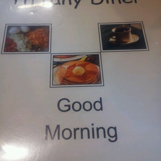 Photo taken at Tiffany Diner by Heaven on 6/17/2012