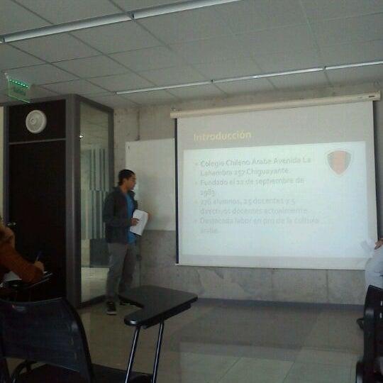 Foto tomada en Universidad Andrés Bello por Eduardo Y. el 5/22/2012