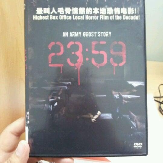 Photo taken at Lien Ying Chow Library 连瀛洲图书馆 by Jae Jae N. on 4/19/2012