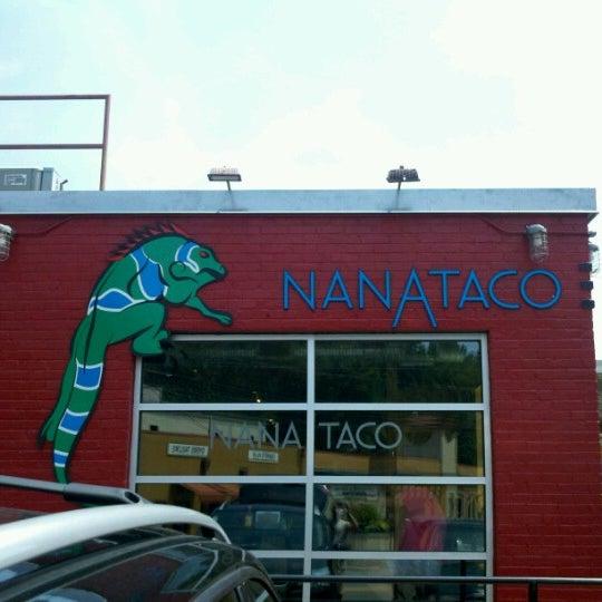 Photo taken at NanaTaco by Luke D. on 7/7/2012