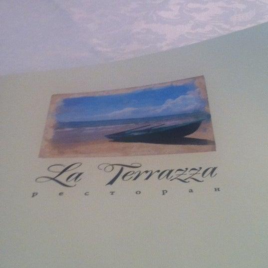 Снимок сделан в La Terrazza пользователем Татьяна Р. 5/14/2012