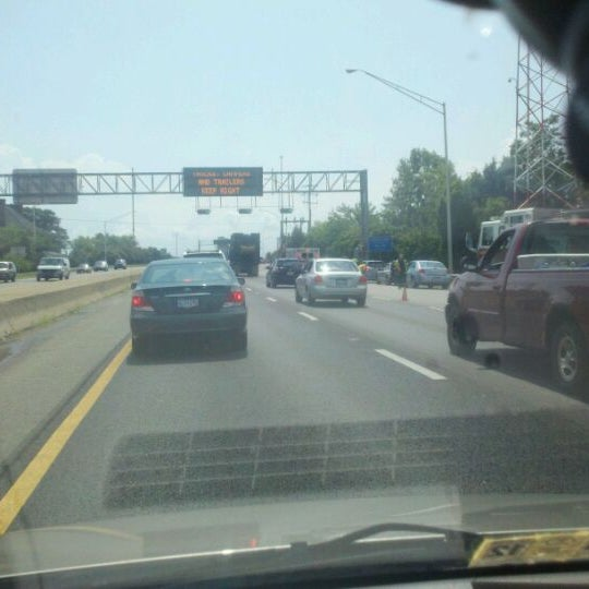 Photo taken at HRBT by Christian F. on 8/20/2011