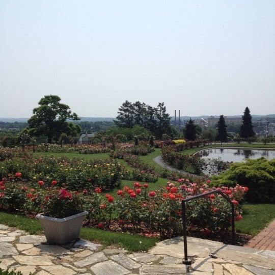 Photo taken at Hershey Gardens by Myles T. on 5/28/2012